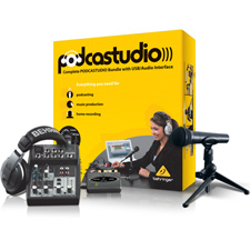 Behringer - Professional PODCASTUDIO Bundle with USB Interface