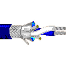 Belden 9463 Twinax® Blue Hose 20 AWG Stranded Cable