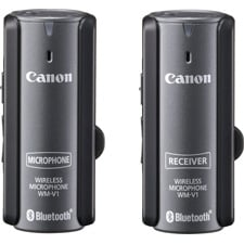 Canon WM-V1 Bluetooth Wireless Mic Kit & 2-Way Communication System