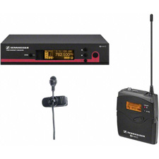 Sennheiser EW 122 G3 Rackmount Wireless Mic Systems with ME4 Lavalier Mics