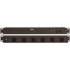 Geist BRT060-10 Rackmount 10 Outlet 15A Non-Suppressed AC Power Distributor