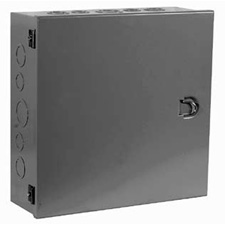 Milbank 10104-HC3R Type 1 Hinged Cover Junction Box 10x10x4