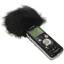 Mic Muff MM-18 Low Cost Fur Mic Windscreen for Zoom-H4 and AT825
