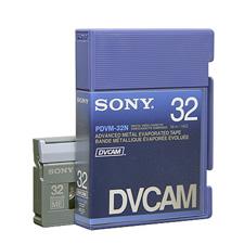 Sony DVCAM Series Digital Video Cassettes