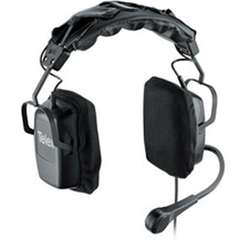 Telex Headset Dual Sided w/ A4M