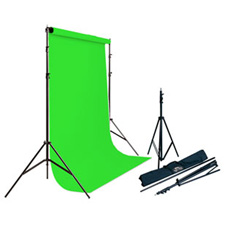 Savage 62037-4612 Porta Stand/Vinyl Kit Chroma Key Green