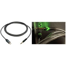 A Type Male to 1/4In Male USB Lightsnake Cable