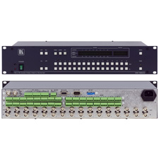 Kramer VS-162AV 16x16 Video & Bal Audio Switcher
