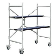Xtend & Climb IMAC 4 Ft. Aluminum Scaffolding with Wheels