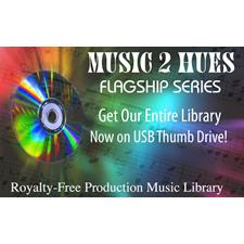 Music 2 Hues Full Flagship Series Full 95 Title Set on USB Drive
