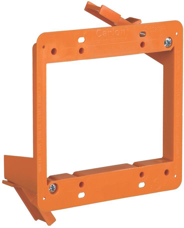 Attero Tech 2-Gang Old Work Bracket - 2-Gang Drywall Bracket 2GANGOLDWORKBRAC