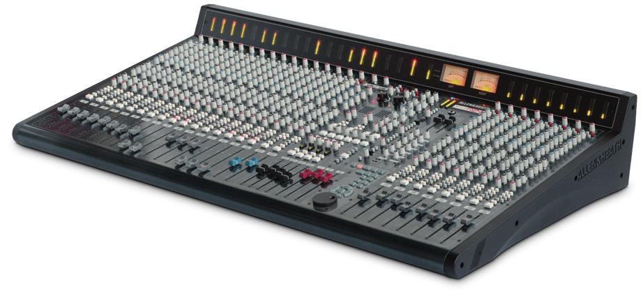 allen heath gs r24 24 channel studio recording mixer. Black Bedroom Furniture Sets. Home Design Ideas