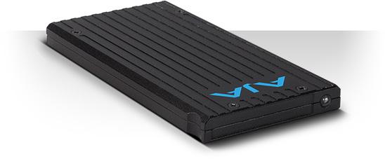 AJA PAK256-X2 Solid State Storage Module - exFAT - 256 GB AJA-PAK256-X