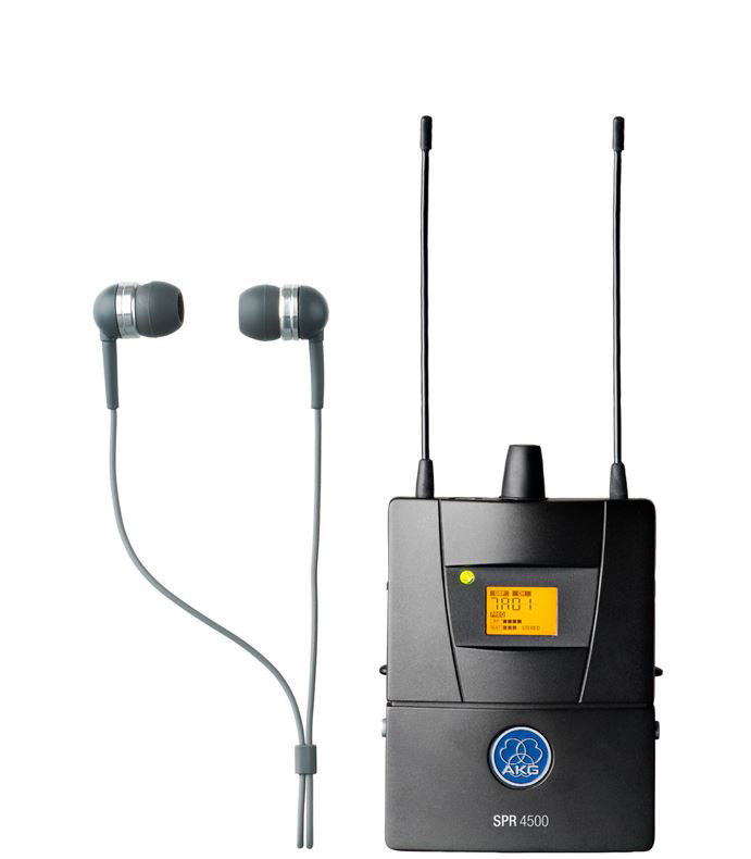akg spr4500 set bd7 reference wireless in ear monitoring system band 7 500 1 to 530 5 mhz. Black Bedroom Furniture Sets. Home Design Ideas