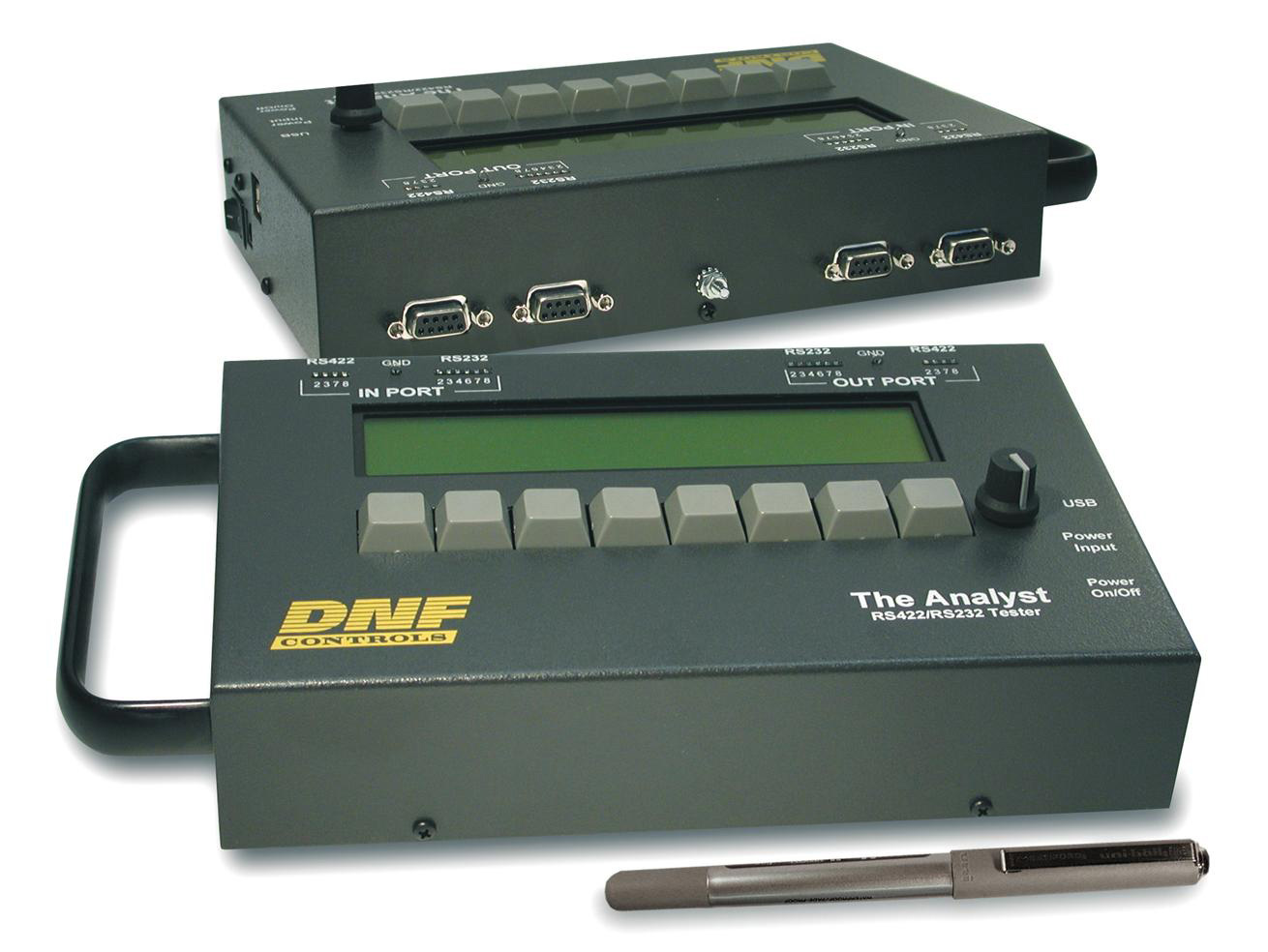Rs 422 Tester : Dnf controls analyst rs tester