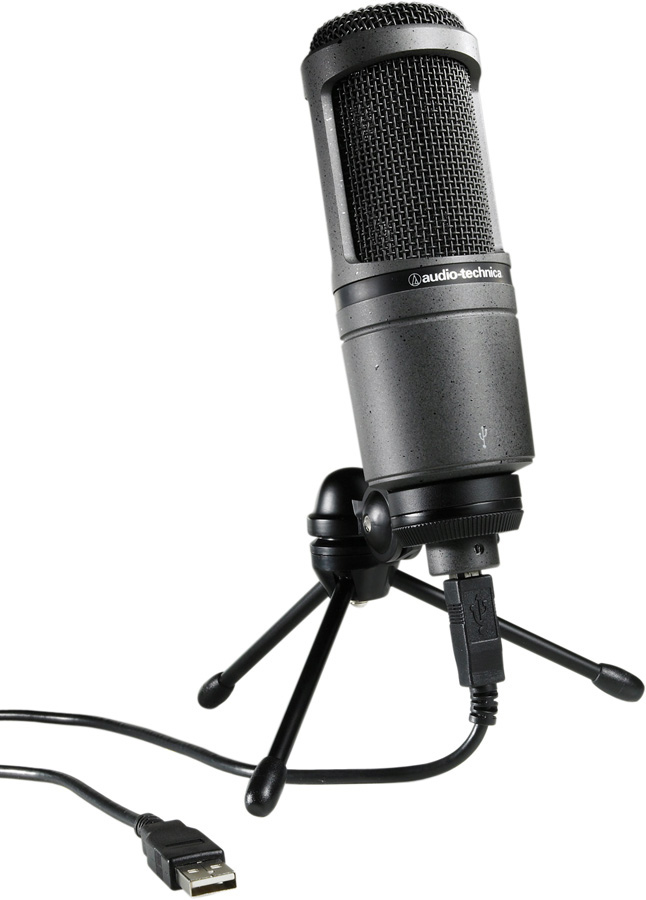 audio technica at2020 usb cardioid condenser usb microphone. Black Bedroom Furniture Sets. Home Design Ideas