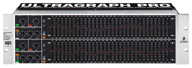 Behringer Fbq6200 Ultragraph Pro 31 Band Stereo Graphic Eq