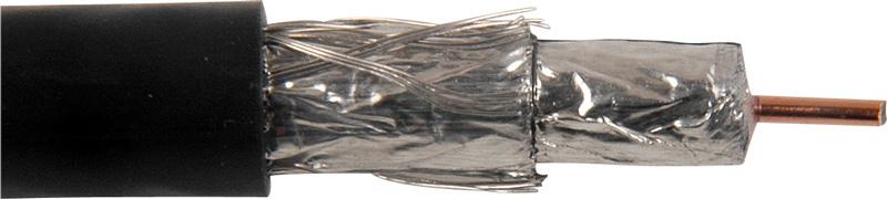 Belden 1189A RG6/18 CATV Coaxial 1000 Foot Black BL-1189A-1000