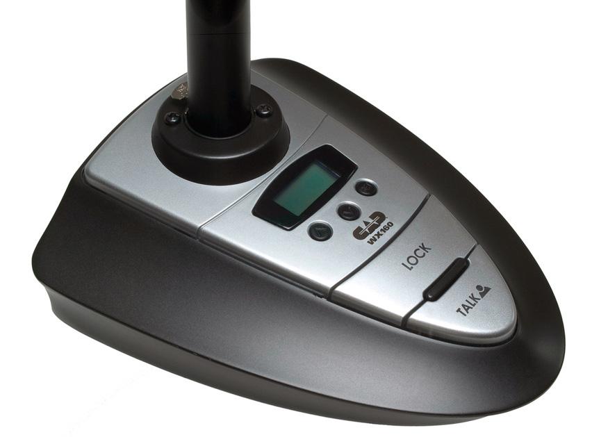 cad audio wx160a deskstand uhf wireless transmitter with xlr port. Black Bedroom Furniture Sets. Home Design Ideas