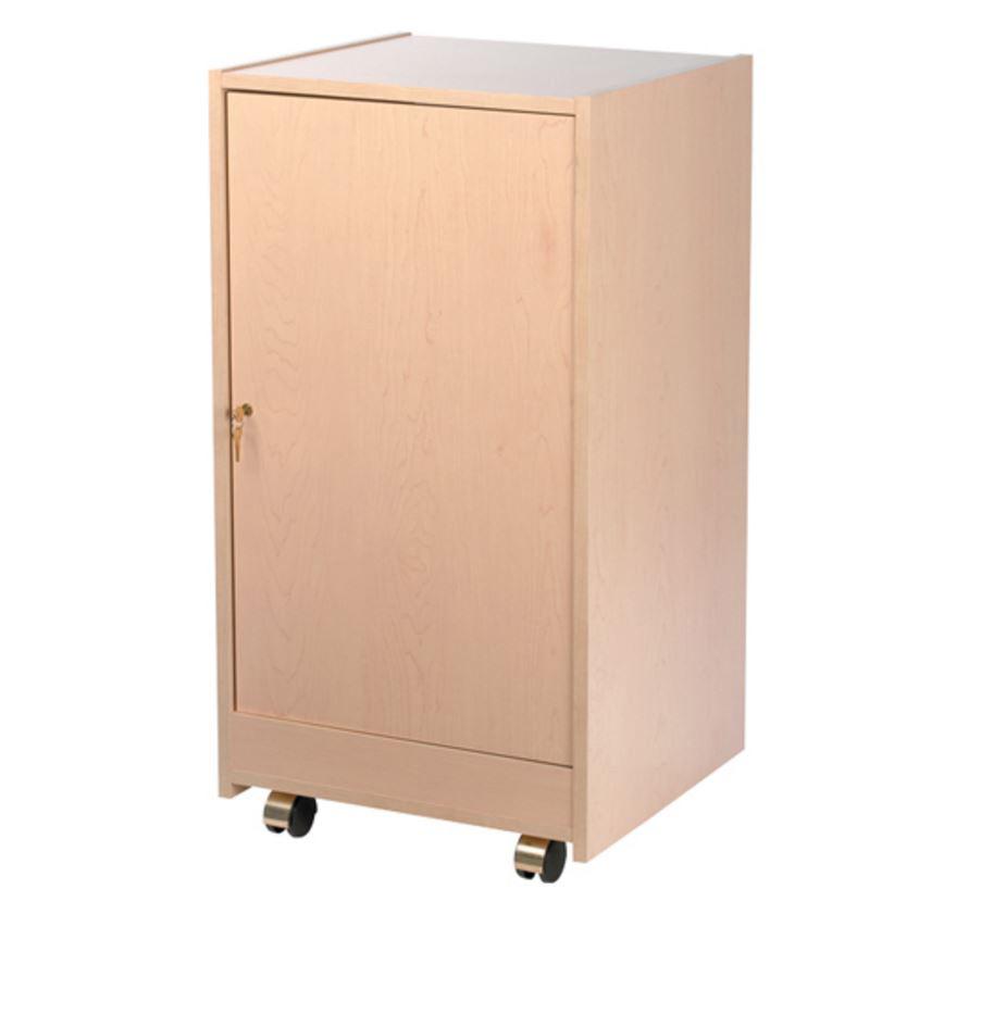 Chief erkd 12mr maple wooden rear door for 12u elite racks for Wooden rear doors