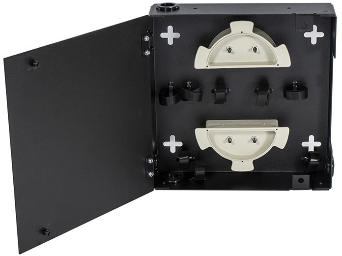 Cleerline SSF-SWM-SOLID-NL-E1 Extra Small - 1 Adapter Plate Capable - Single Door - No Lock - Empty CLT-SSFSWMSDNLE1