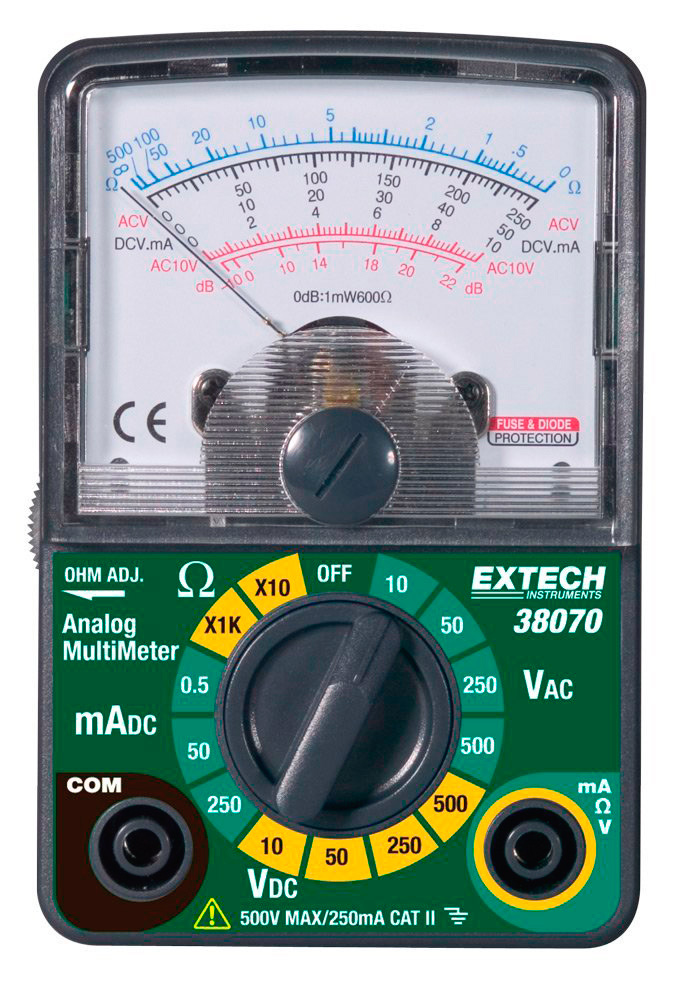 Extech Instruments 38070 Analog Multimeter