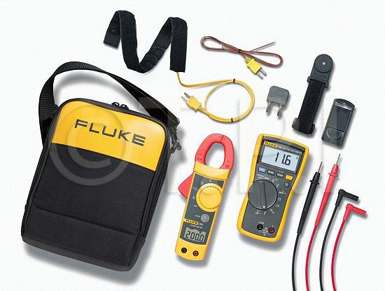 Fluke 322 Clamp Meter : Fluke hvac true rms multimeter and clamp meter