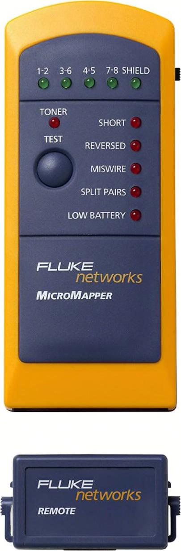 Fluke MT-8200-49A MicroMapper™ Wiremap RJ45 Cable Tester FLK-MT-8200-49A