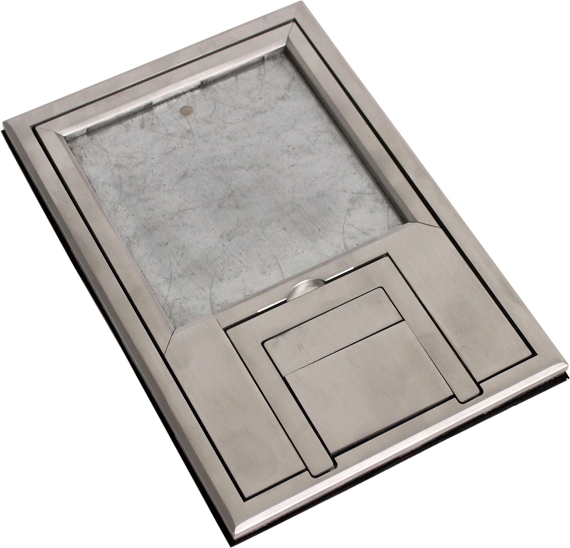 FSR FL-200-SLP U-Access FL-200 Cover with 1/4-Inch Aluminum Beveled Flange (Lift off door) FSR-FL-200-SLP