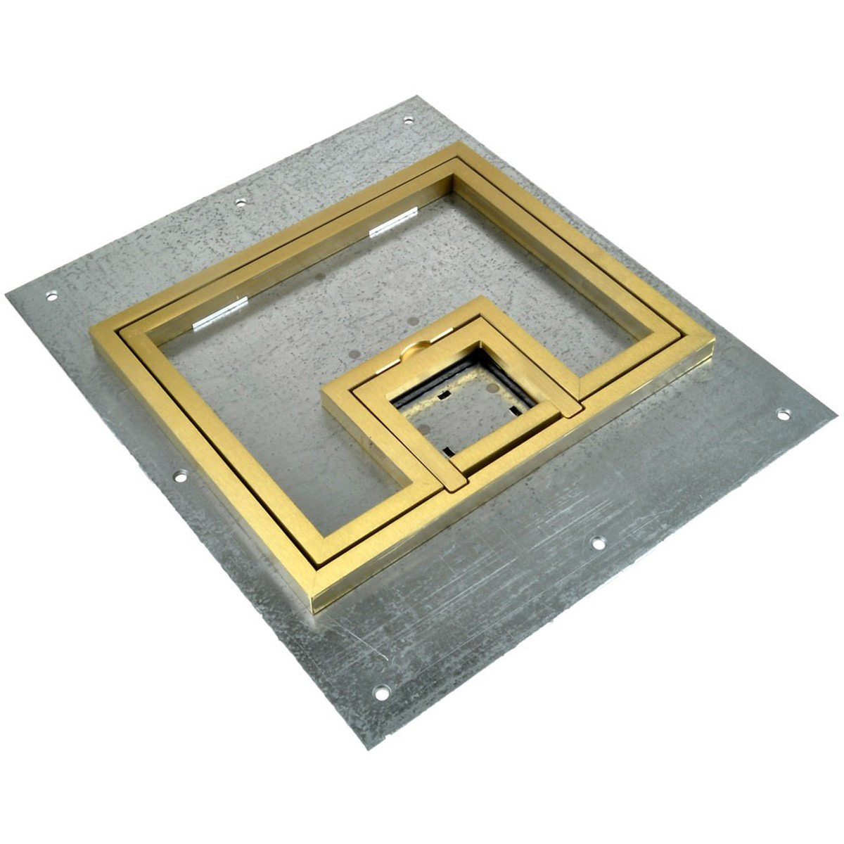 Fsr Fl 500p B C Fl 500p Cover With 1 2 Inch Brass Carpet