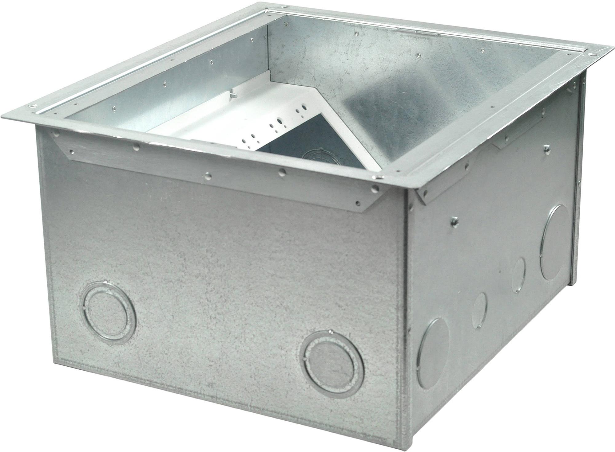 FSR FL-640P-8-B Back Box - 8 Inch Deep FSR-FL-640P-8-B
