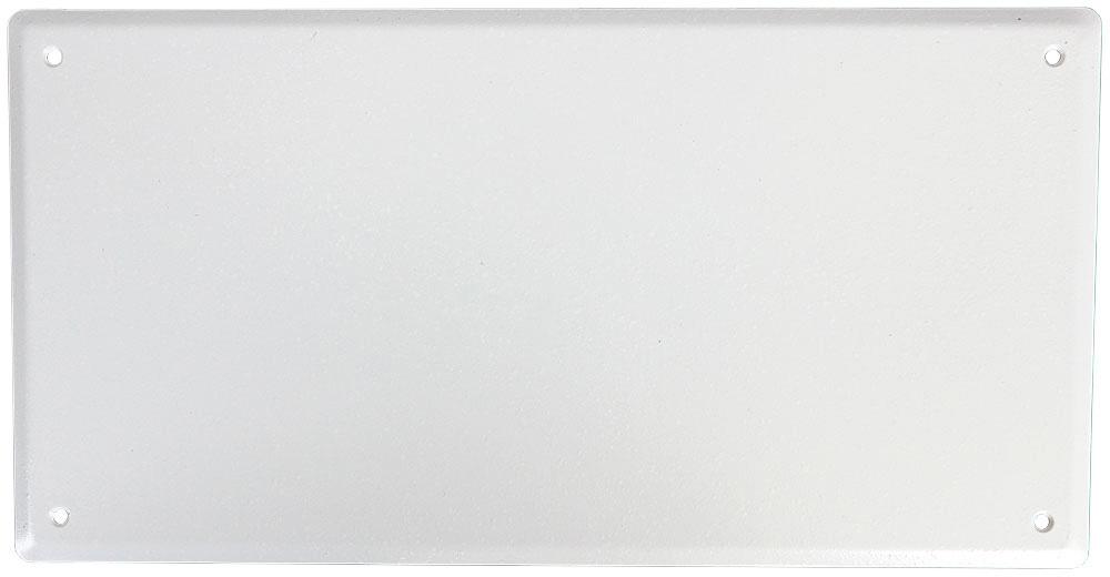 FSR PWB-250-SLDWHT-C PWB 250 Solid Abandonment Cover - White FSR-PWB250SLDWHT