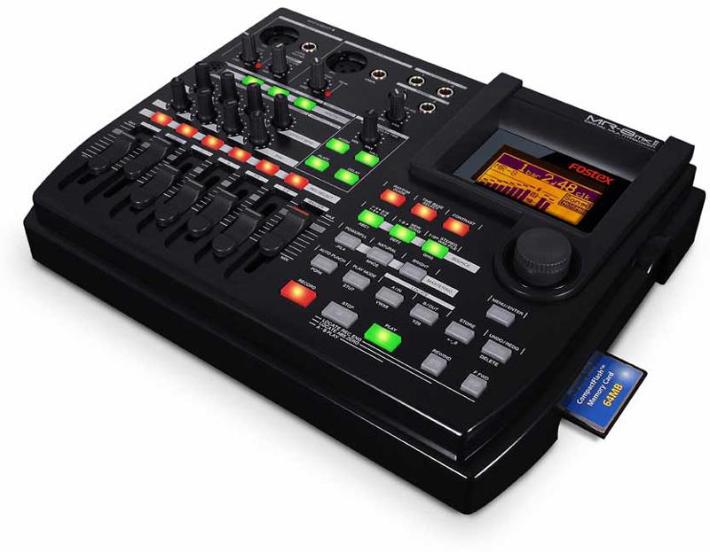 fostex mr 8mkii 8 track digital recorder with 128mb flash card. Black Bedroom Furniture Sets. Home Design Ideas
