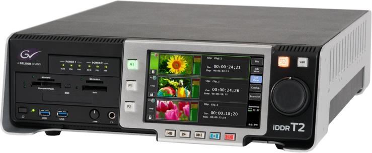Grass Valley KTR4-ELT-CV40 T2 4K Elite Digital Recorder/Player with 2 TB usable SSD Storage GVLY-KTR4ELTCV40
