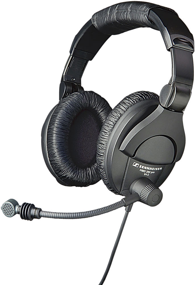 Sennheiser Hmd280 Pro Headset With Boom Microphone