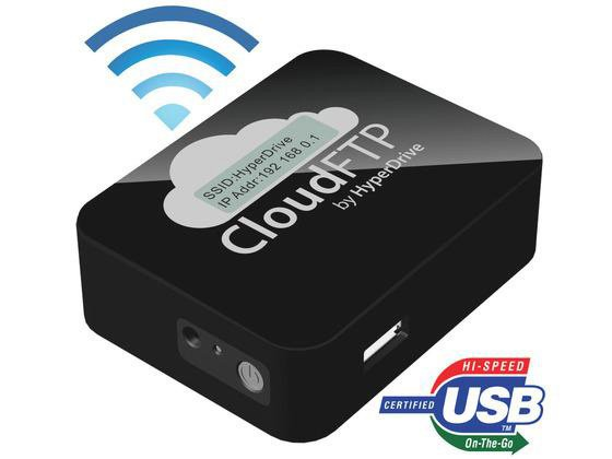Hyperdrive Cloudftp Wireless Ipad Adapter For Usb Storage