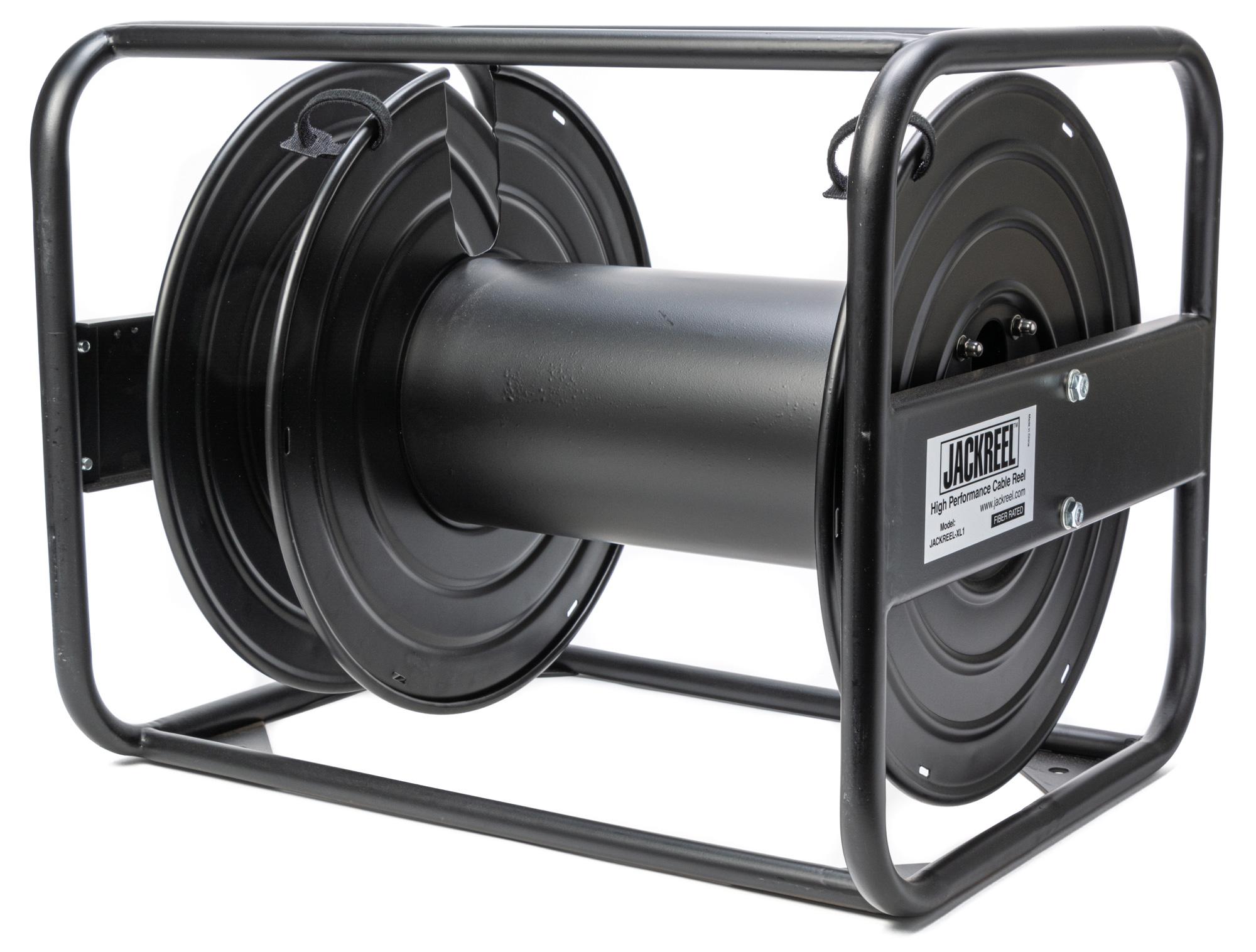 JackReel XL1 High Capacity Broadcast Cable & Fiber Optic Cable Reel - Bstock (Scratches/Box Damage) JACKREEL-XL1-BS