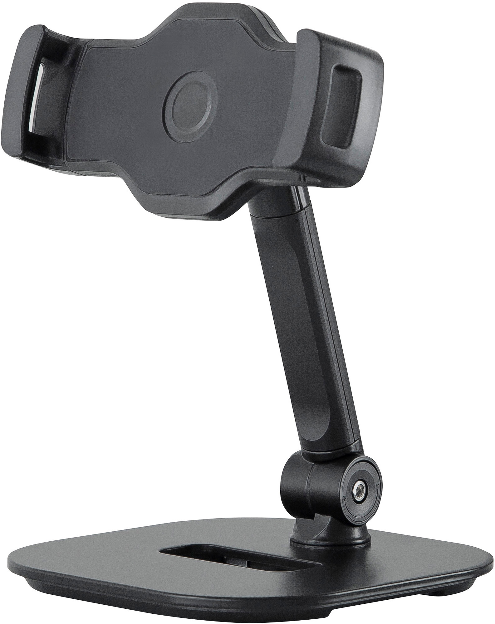 K&M 19800 Smartphone/Tablet Desk Stand for devices from 10.2 to 13 Inches - Black KM-19800