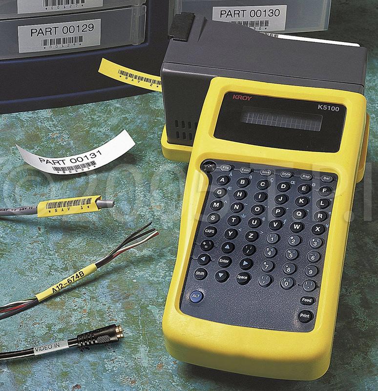 Kroy K5100 Handheld Label And Wire Marking Printer