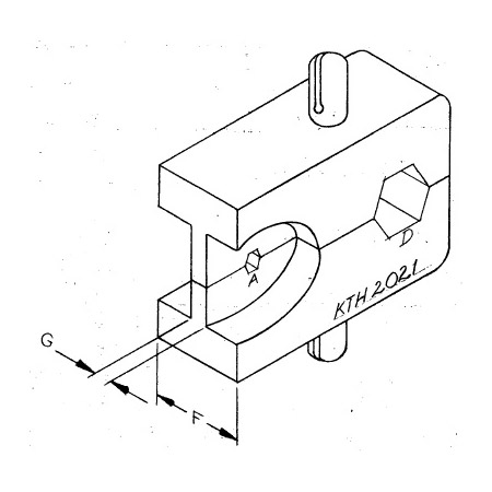 Kings Kth 2021 Crimp Die For Din 1 02 3 Cable Plugs