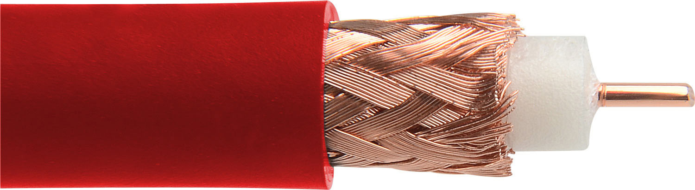 Canare L-5CFW 75 ohm Digital Video Flexible Coaxial Cable - 984 Foot - Red L-5CFWRD-984