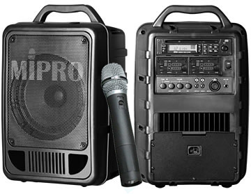 Mipro Ma 705 Portable 50w Pa System Base W 8in Full Range