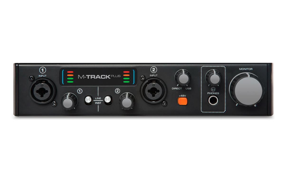 m audio m track plus mkii two channel usb 2 0 audio interface. Black Bedroom Furniture Sets. Home Design Ideas