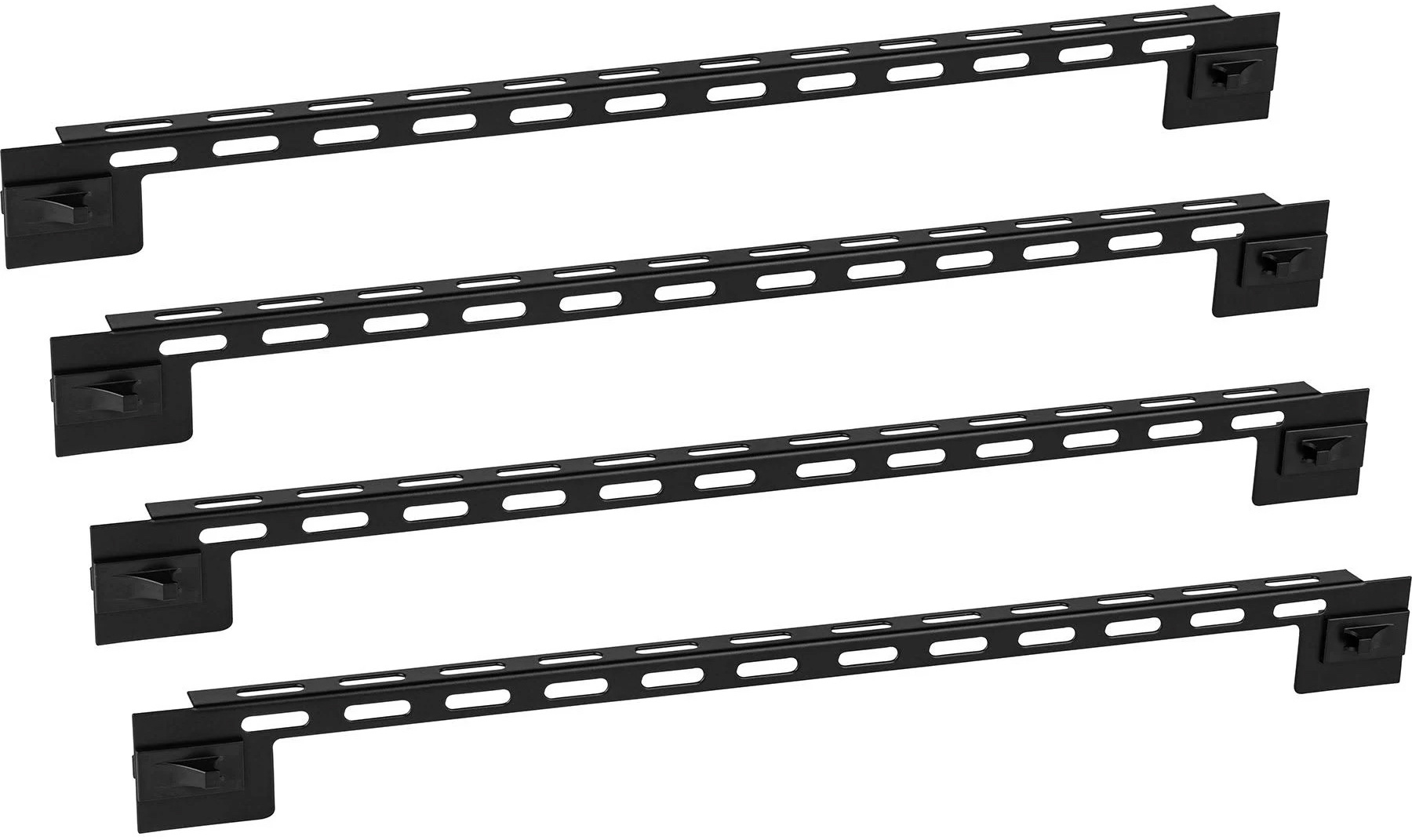 Middle Atlantic FWD-LB-1A-4PK Forward Straight -L- Style Lace Bar - 4 Pack MAP-FWD-LB-1A4PK