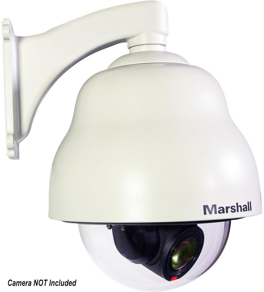 Marshall CV6XX-DH Outdoor IP66 Dome Housing for CV620/CV612/CV630 Security Cameras - White MAR-CV6XX-DH