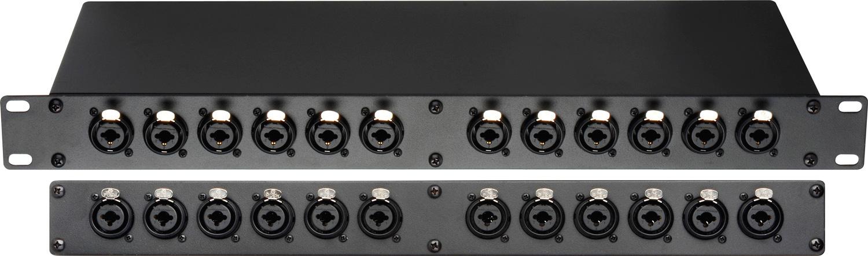 Connectronics Pbxlr 12combo 24 Point Xlr Amp 1 4 Trs Combo