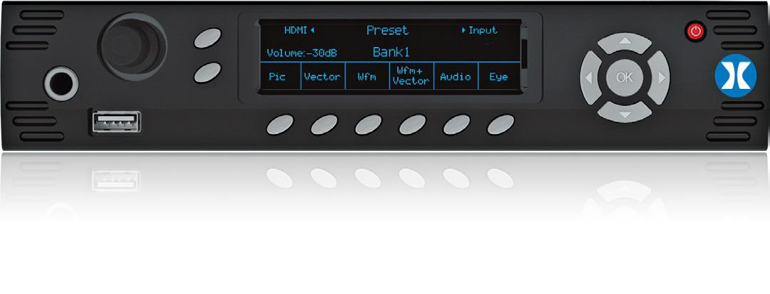 Phabrix PHRX500AG Rx500 1U 1/2 Rack 2-Channel Rasterizer - 1x Analyzer/Generator Module PHRX500AG