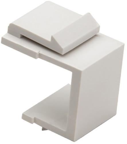 Platinum Tools 790WH-10 Keystone Blank Insert - White - 10/Pkg PLAT-790WH-10