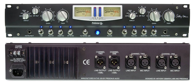 Low Voltage Preamplifier By Bc549