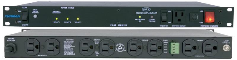 Furman Ps 8r : furman ps 8r ii power conditioner sequencer ~ Hamham.info Haus und Dekorationen